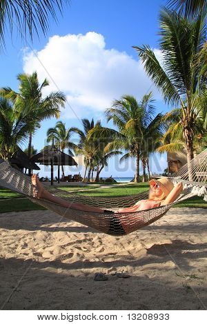 Relaxing In Paradise