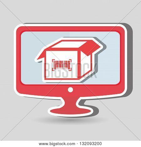 product identification code design, vector illustration eps10 graphic