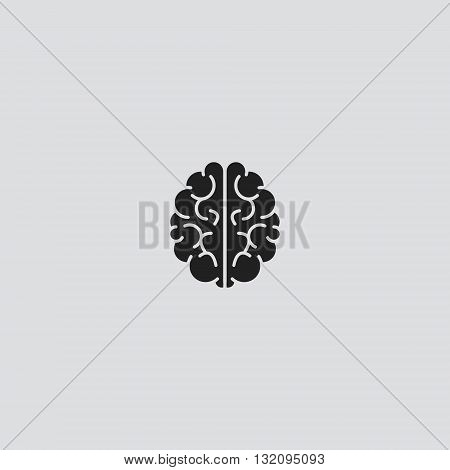 Brain Icon Vector. Brain Icon logo. Brain Icon Sign.