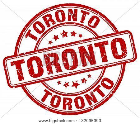 Toronto red grunge round vintage rubber stamp.Toronto stamp.Toronto round stamp.Toronto grunge stamp.Toronto.Toronto vintage stamp.