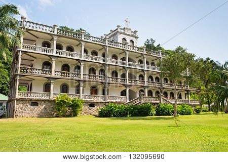Residence Of The Roman Catholic Priesthood In Victoria, Mahe, Seychelles