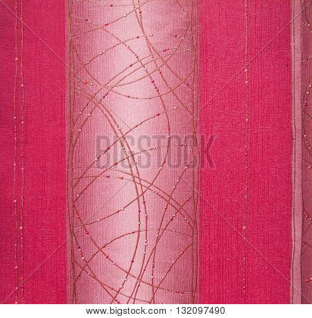 PINK, ABSTRACT RAISED LINE PATTERN ON ROUGH PAPER , BACKGROUND