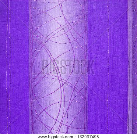 PURPLE, ABSTRACT RAISED LINE PATTERN ON ROUGH PAPER , BACKGROUND