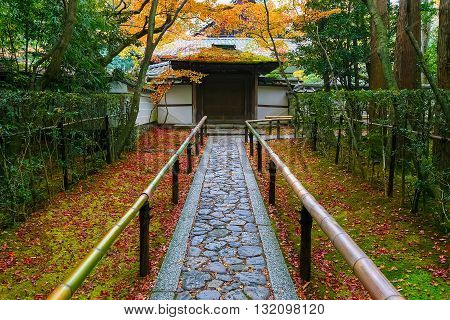Autumn at Koto-in a Sub Temple of Daitokuji Temple in Kyoto