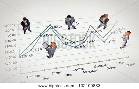 Dynamics of growth in business