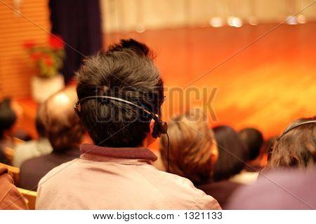 Audiences Attending A Presentation