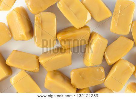 Background caramel toffee . design element caramel toffee