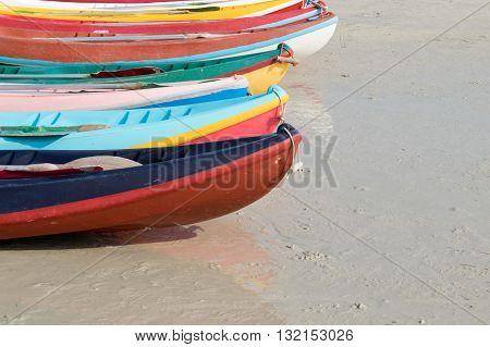 kayaks on the beach. kayaking, kayak, sport, water,