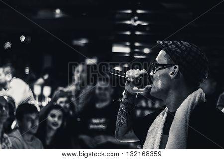 Russian rapper