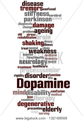 Dopamine, Word Cloud Concept 7