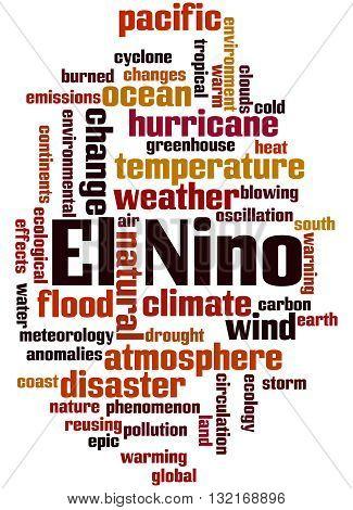 El Nino, Word Cloud Concept 8