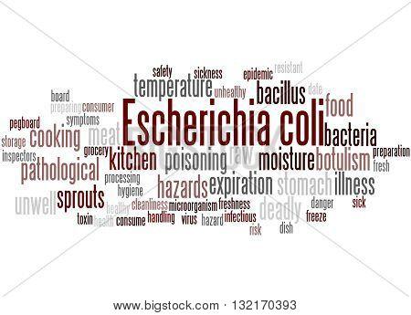 Escherichia Coli, Word Cloud Concept 6
