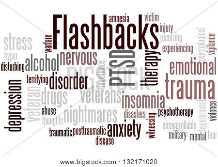 Flashbacks, Word Cloud Concept 3