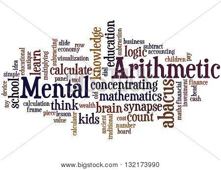 Mental Arithmetic, Word Cloud Concept 7