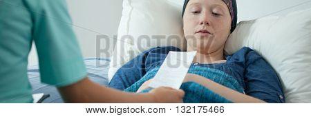 Doctor Giving Patient Prescription