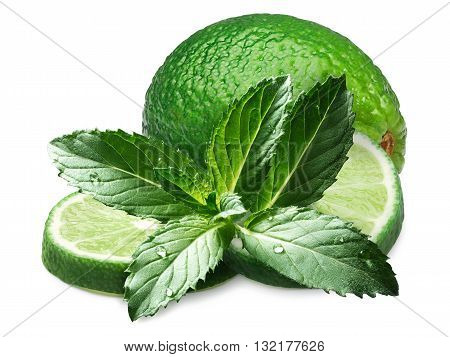Peppermint With Limes