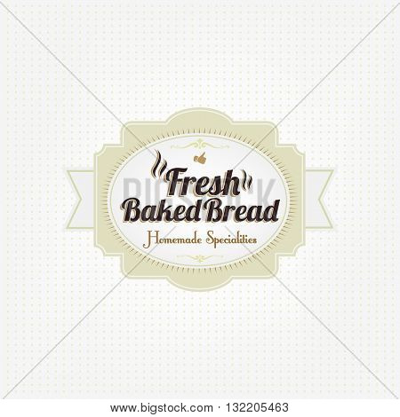 Binate Bakery Label