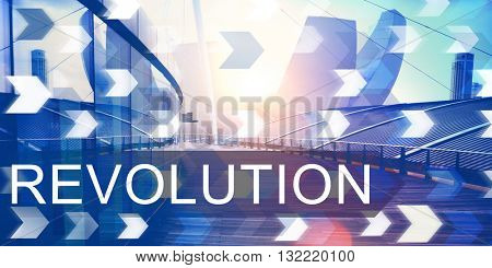Revolution Revolutionary Innovation Concept