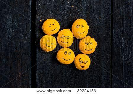 Yellow Smile Set