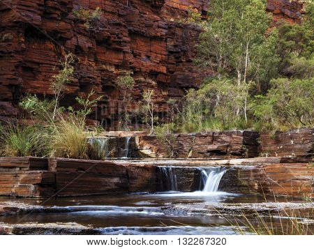 Dales Gorge in Karijini National Park, Western Australia.