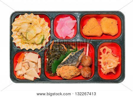 Japan Food Set Of  Saba Grilled.