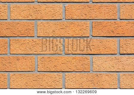 Traditional Red Brick Wall Texture Background.