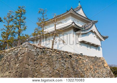 Nagoya Castle Landmark In Nagoya Japan.