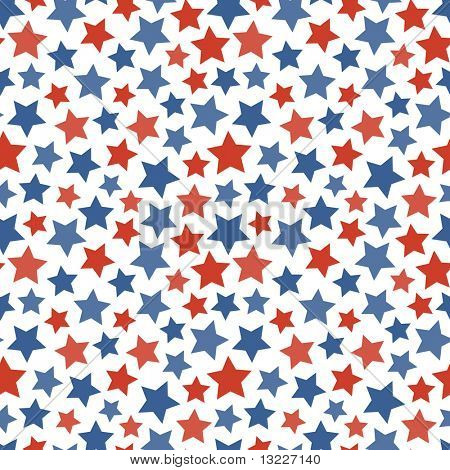Seamless star background. Vector pattern.