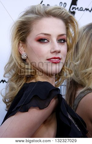 Amber Heard at the Los Angeles premiere of 'Remember The Daze' held at the Egyptian Theater in Hollywood, USA on April 8, 2008.