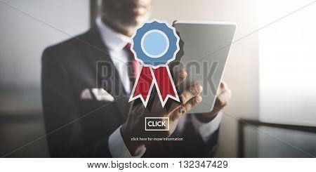 Warranty Guarantee Guaranty Quality Certificate Concept