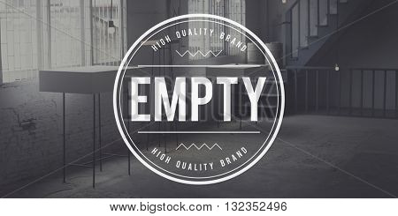 Empty Bare Minimal Space Vacant Void Design Concept