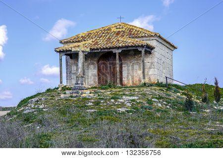 Hermitage of San Blas in Velilla Valladolid province autonomous community of Castilla y Leon Spain
