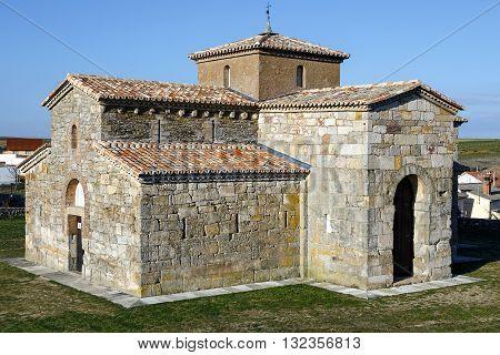church Visigoth San Pedro de la Nave El Campillo municipality of San Pedro de la Nave-Almendra Zamora Spain. Declared National Monument in 1912