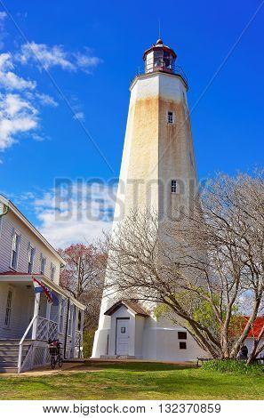 Sandy Hook Light House Tower