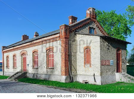 Old Building For Sale In The Center Of Ventspils In Latvia