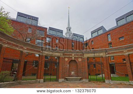 Fence At Harvard University