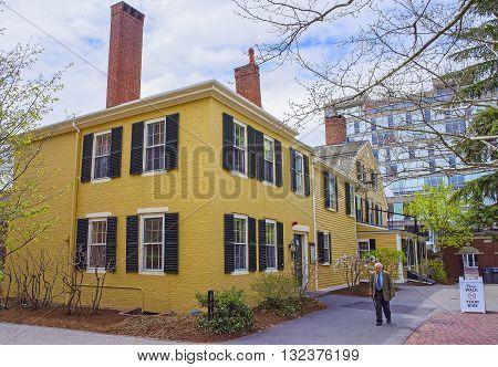 Harvard Yard Of Harvard University