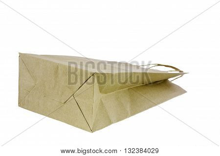 Paper bags are made from recycled paper