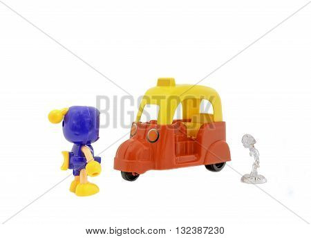 plastic toys sold in the common market. no copyright