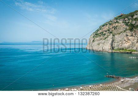 Marinella beach ,Meta Di Sorrento,Sorrento Peninsula, Italy
