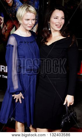 Renee Zellweger and Fran Drescher at the World premiere of 'Leatherheads' held at the Grauman's Chinese Theater in Hollywood, USA on March 31, 2008.