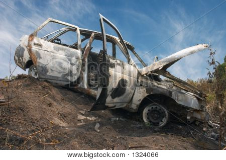 The Burned Down Automobile