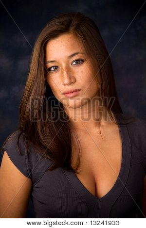 Freckled Asian American