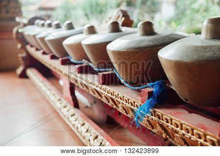 Traditional Balinese Music Instruments, Ubud, Bali