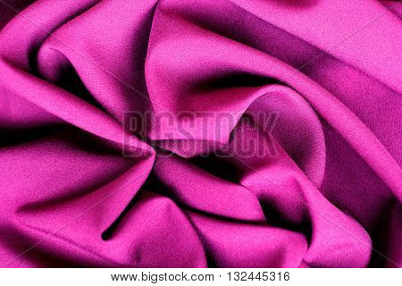 Purple abstract background luxury cloth or liquid wave or wavy folds, silk or satin material with waving lines