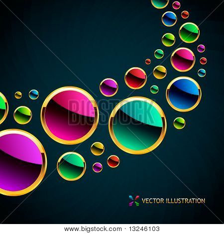 Vector abstract background. poster