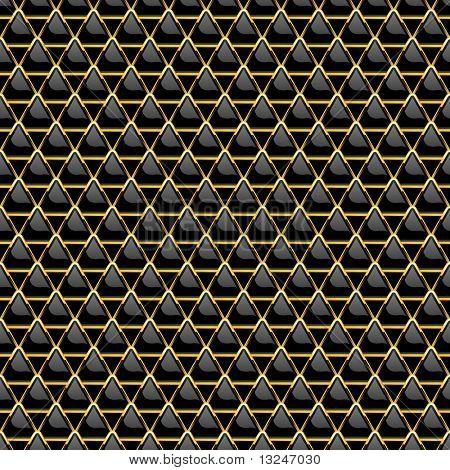 Seamless metal plate. Vector illustration.