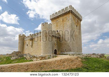 Castle of Villalonso Castile and Leon Zamora Spain