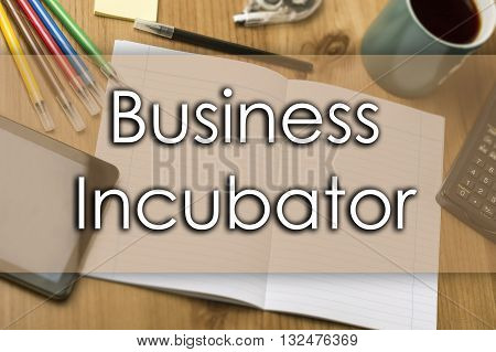 Business Incubator - Business Concept With Text