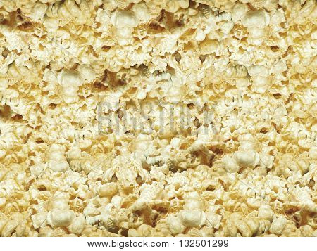 Photo Stock - Sweet Popcorn texture background